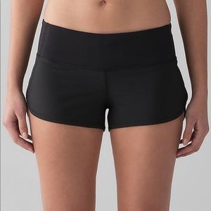 Black speed shorts